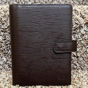 Louis Vuitton Agenda MM  Epi Diary Cover  11510